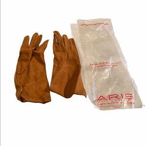 Aris vintage Germany gloves leather